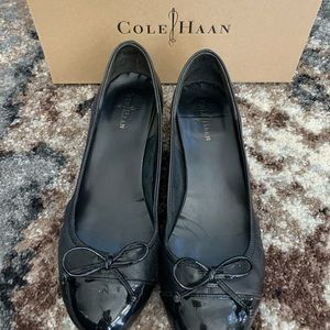 Cole Haan Leather Wedges